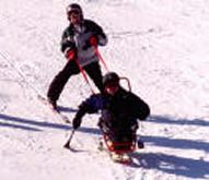 Adaptive Skier at Giants Ridge