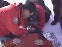 Patient Assessment of Injured Skier